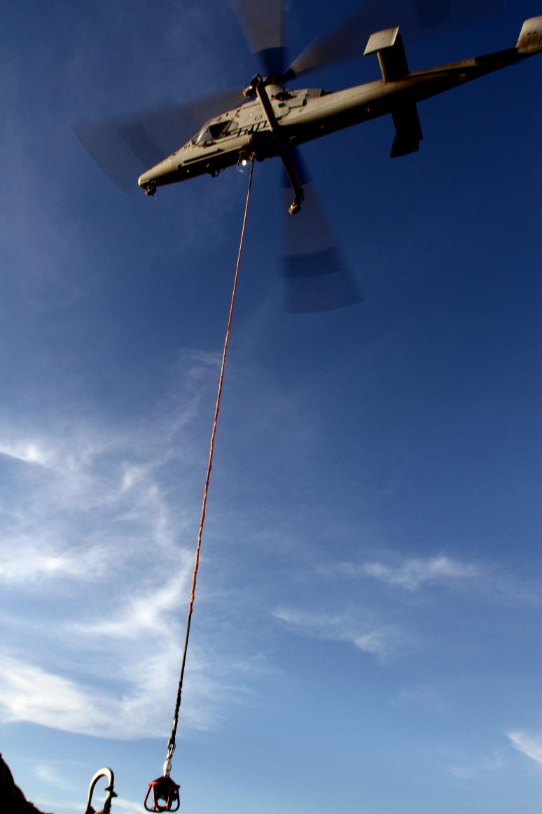 Marines get 'hot hookup,' pioneer new technique