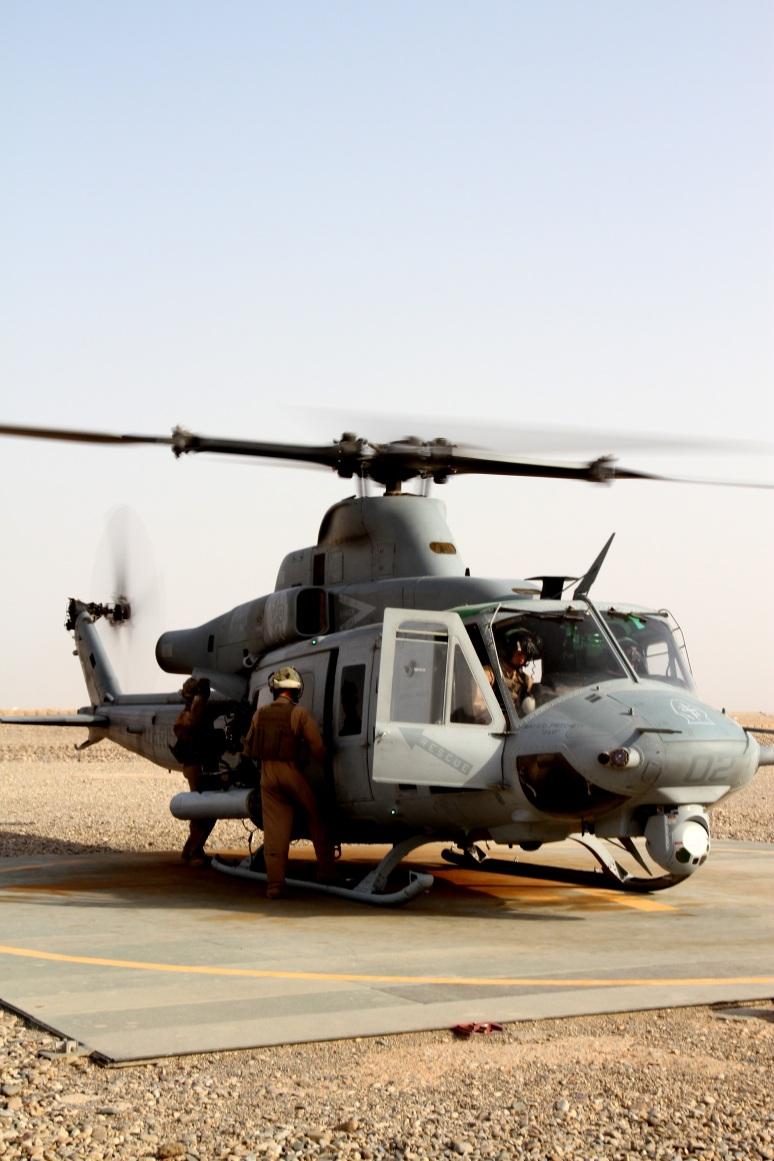 Fighting Irish: deployed crew chief fulfills dream