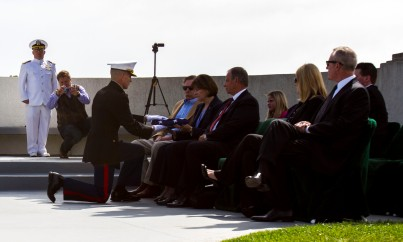 Marines celebrate life of WWII ace