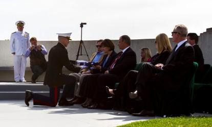 Marines celebrate life of WWII ace